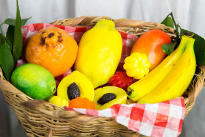 Saboaria Artesanal com frutas aromatizadas para decorações de ambientes