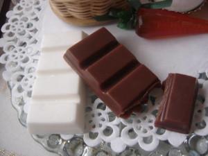 isso não é um chocolate e sim um sabonete artesanal em formato de barra de chocolate