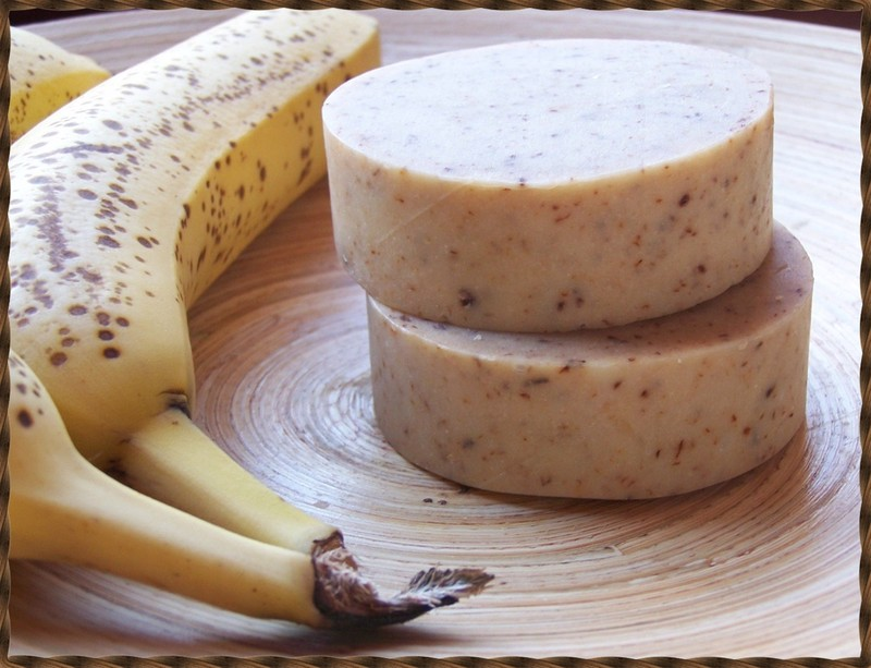 Sabonete Artesanal de Banana