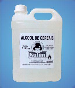 alcool de cereais