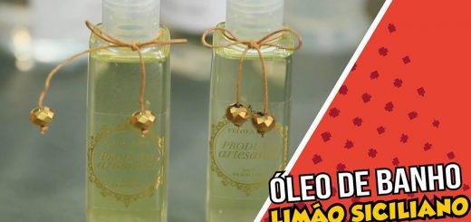 Óleo de Banho de Limão Siciliano Peter Paiva