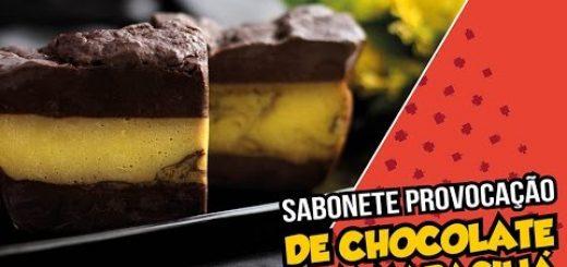 Sabonete Provocação de Chocolate com Maracujá Peter Paiva
