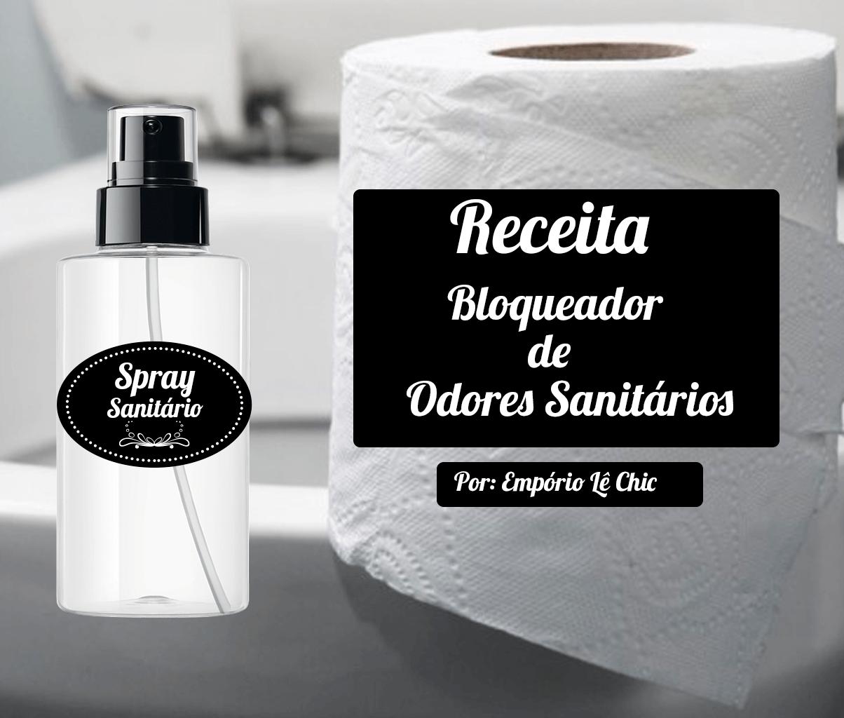 Spray bloqueador de Odores Sanitários