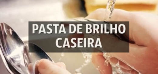 Pasta de Brilho Caseira