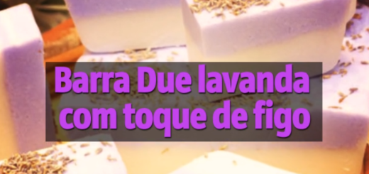 Barra Due lavanda com toque de figo