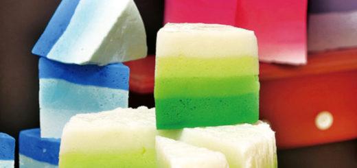 Receita Sabonete de Marshmallow