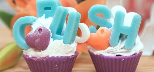Como fazer sabonete de Cupcake Linha Meu Crush - Peter Paiva