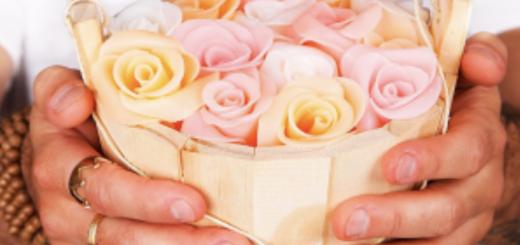 Como fazer tina de rosas de sabonete - Peter Paiva
