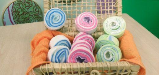 Como Fazer Sabonete em Espiral