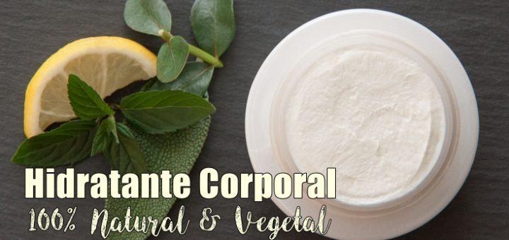 Como fazer hidratante corporal natural e vegetal