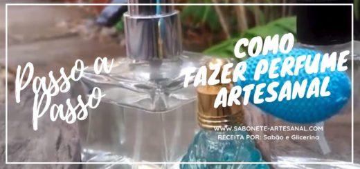 Como Fazer Perfume Artesanal