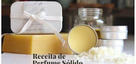 Como fazer Perfume em Pasta ou Sólido