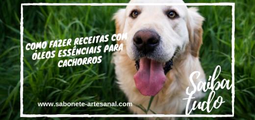 Como Fazer Receitas com Óleos Essências para Cachorros