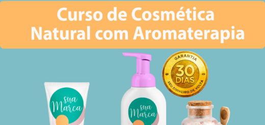 Curso de Cosmética Natural com Aromaterapia