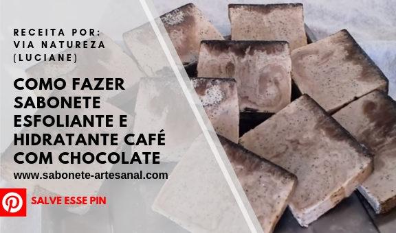 Como Fazer Sabonete Esfoliante e Hidratante Café com Chocolate