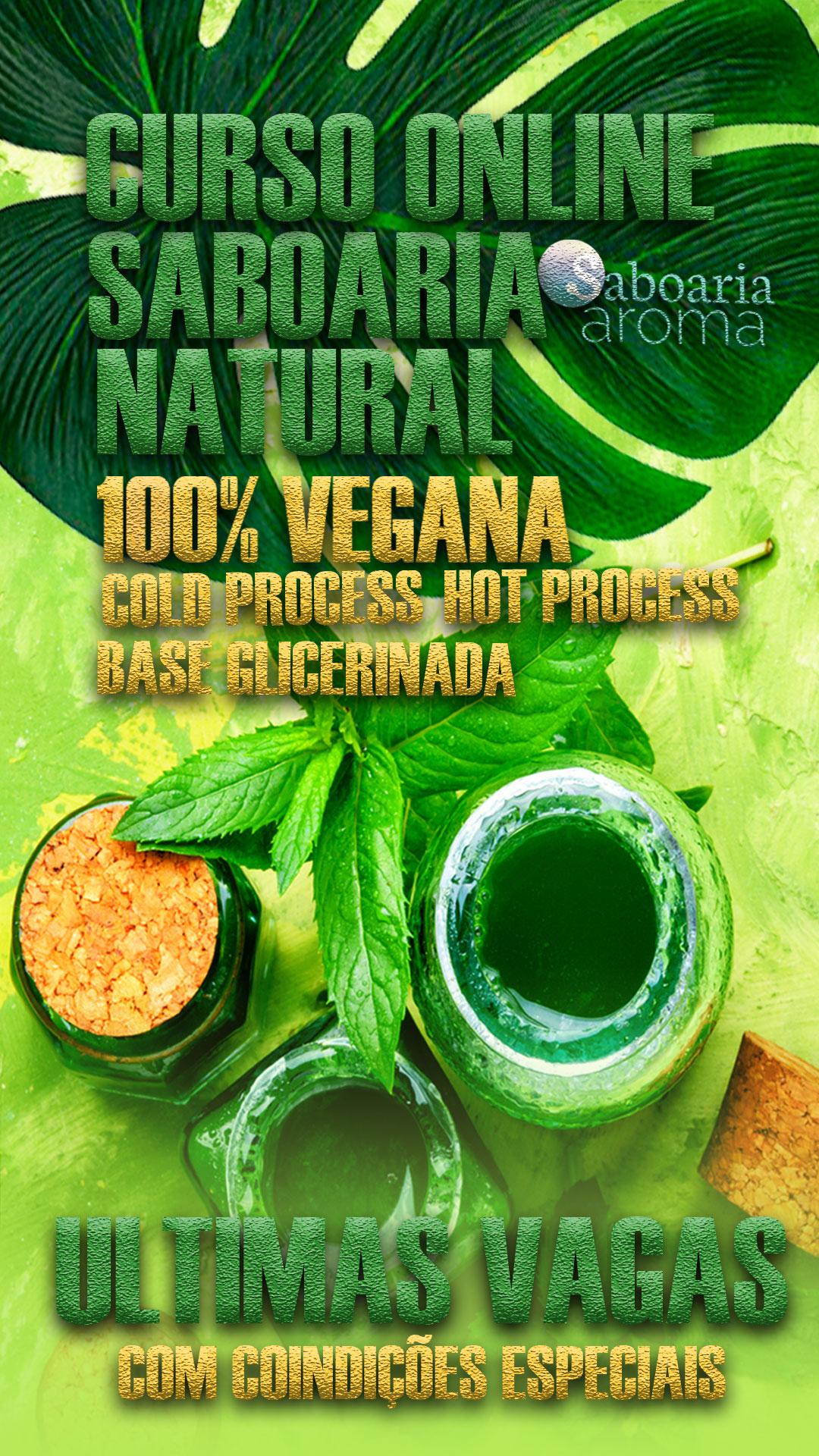Curso de Saboaria Natural Vegana