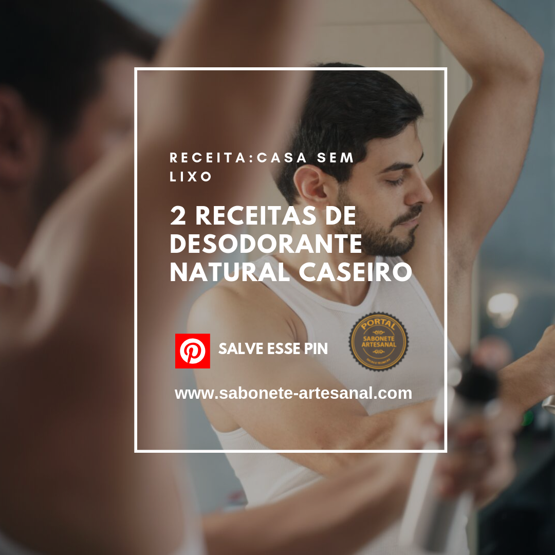 2 Receitas de Desodorante Natural Caseiro