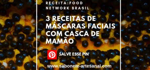 3 Receitas de Máscaras Faciais com Casca de Mamão