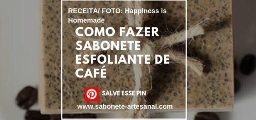 Como Fazer Sabonete Esfoliante de Café - Receita Passo a Passo