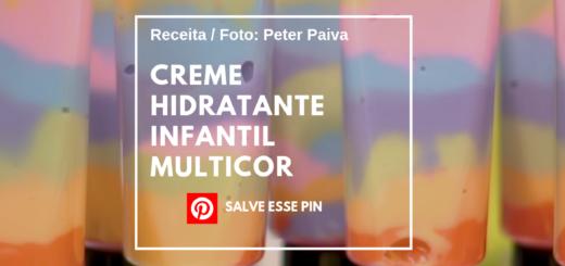 Creme Hidratante Infantil Multicor - Peter Paiva