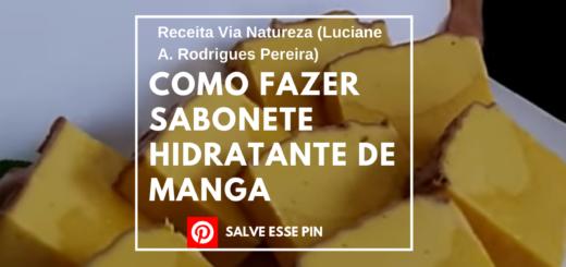 Como Fazer Sabonete Hidratante de Manga