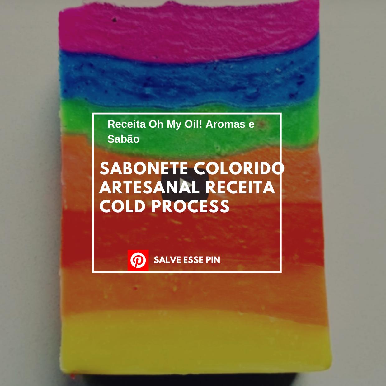Sabonete Colorido Artesanal Receita Cold Process