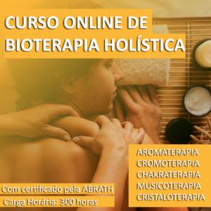 Curso de Bioterapia Holística - Com certificado pela ABRATH