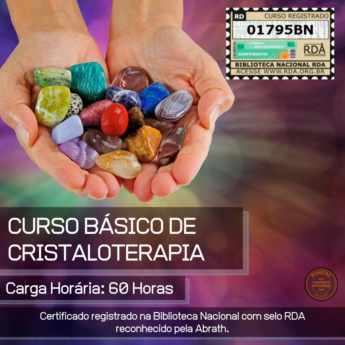 Curso Básico de Cristaloterapia - Terapia com cristais