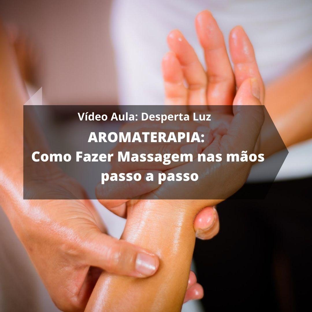 Como Fazer Massagem nas mãos passo a passo