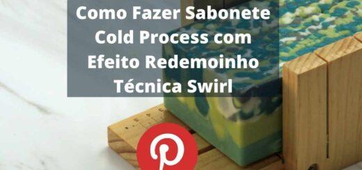 Como Fazer Sabonete Cold Process com Efeito Redemoinho Técnica Swirl