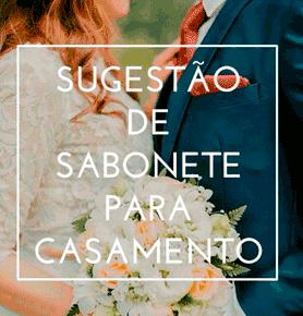 Sabonete Artesanal para Casamento